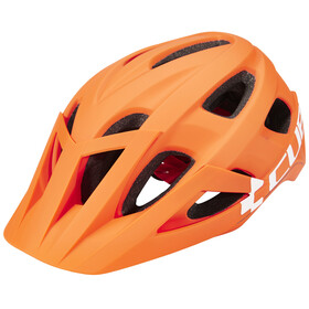 Cube Am Race Helmet orange'n'white
